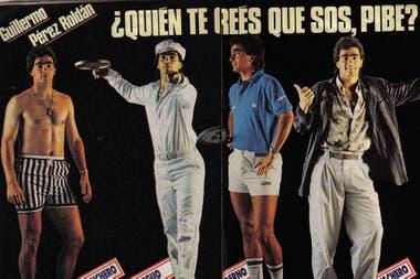 Rocky (así lo apodaban), en una producción de revista durante el pico de su popularidad.