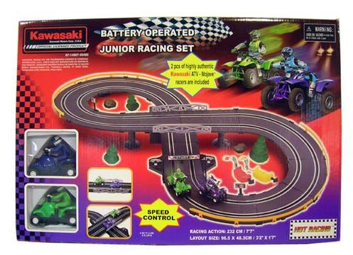 Un regalo que también disfrutan los padres. Pista a batería ($70 en Walmart). Foto: lanacion.com