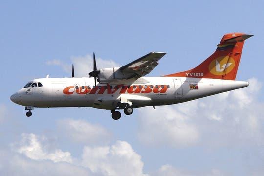 Imágen de archivo de un avión ATR-42 se ve en esta foto sin fecha. Foto: Reuters