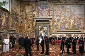 El Pontífice llamó a intensificar el diálogo entre las distintas religiones