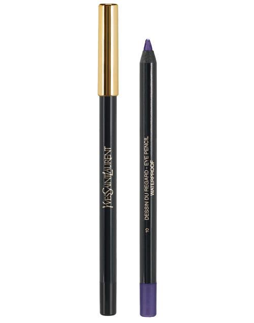 Crayón Dessin du Regard Waterproof violeta ($250, YSL).