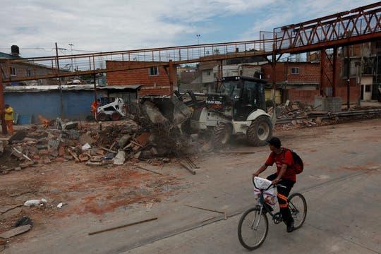 Más de 800.000 pesos se repartirán entre 27 familias como indemnización por el desalojo y la demolición de las casas. Foto: LA NACION / Maxie Amena