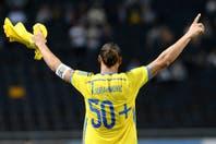 El golazo de taco de Zlatan Ibrahimovic para ser récord en Suecia