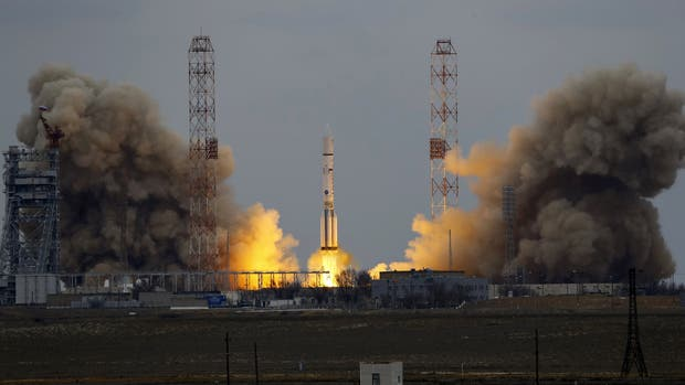 Comenzó la misión espacial rusa ExoMars 2016