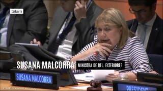 Malcorra defendió su postulación a secretaria general