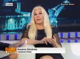Susana Giménez en Café CNN