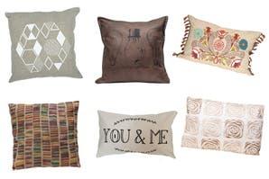 10 almohadones para vestir tu sillón