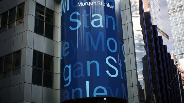 Morgan Stanley, en Wall Street.