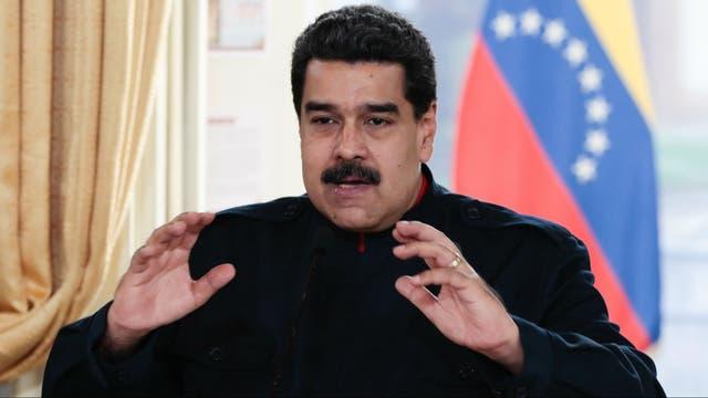 El presidente Maduro habla a su gabinete