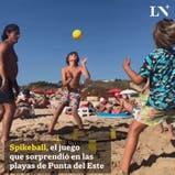 Spikeball, el juego que sorprendió en las playas de Punta del Este