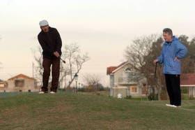 La cancha de golf aporta atractivos en las distintas propuestas