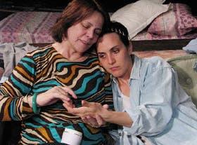 Leonor Manso y Julieta Díaz, madre e hija en Solas