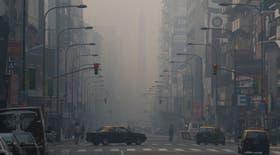 La ciudad de Buenos Aires se llenó de humo como hace 12 días