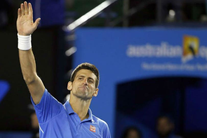 Novak Djokovic superó a Andy Murray y conquistó su quinta corona en Australia. Foto: EFE
