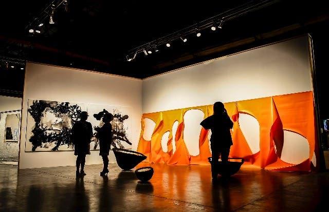Stand de la galería Gachi Prieto en arteBA Focus 2016