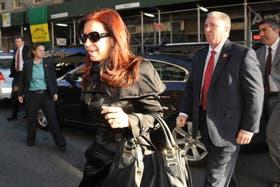 La Presidenta llegó a la ciudad de Nueva York para participar de la Asamblea General de la ONU