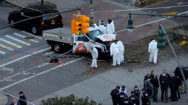 El ataque del martes 31 de octubre en Nueva York