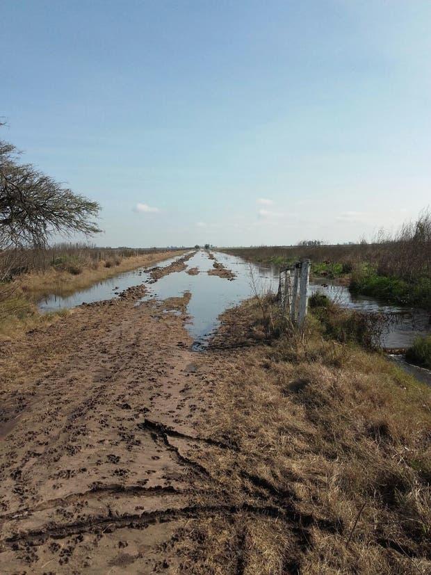 Muchos caminos de la zona núcleo quedaron intransitables por las precipitaciones
