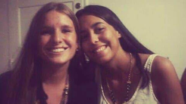 Marina Menegazzo y María José Coni (fotos exclusivas de LA NACION)