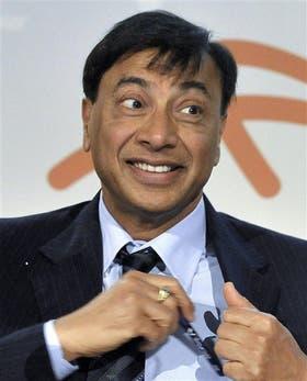 El magnate Lakshmi Mittal