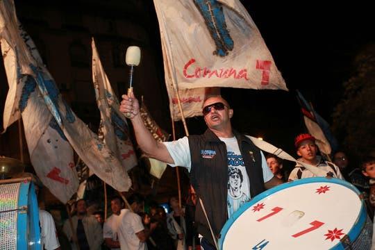 El cotillón electoral, a pleno. Foto: LA NACION / Guadalupe Aizaga