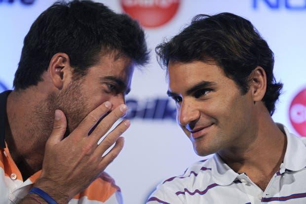 Roger, con Delpo