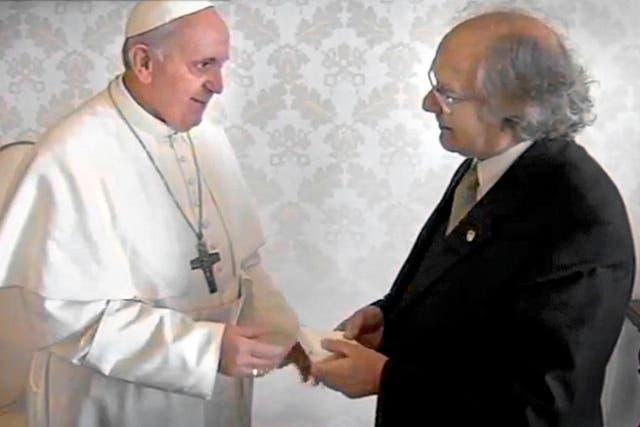 Pérez Esquivel, uno de los primeros en ir a Roma