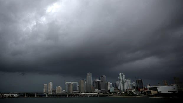 Miami, horas antes de la llegada del huracán Irma