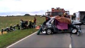 El accidente dejó cuatro muertos y heridos de gravedad