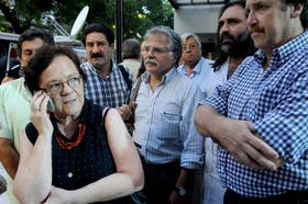 Maldonado, de Ctera, lideró el grupo de sindicalistas que negoció la paritaria