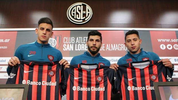 Los refuerzos de San Lorenzo para esta temporada