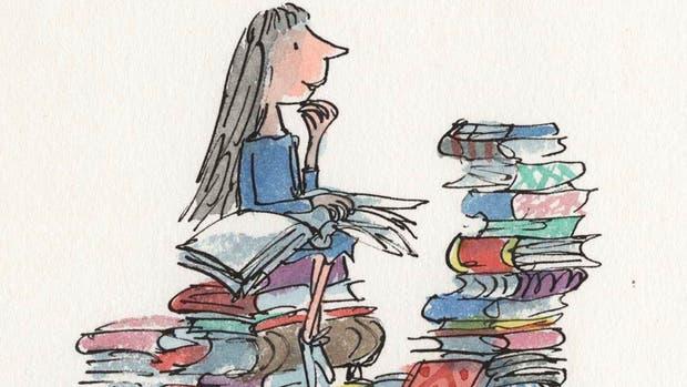 La ilustración original de Matilda