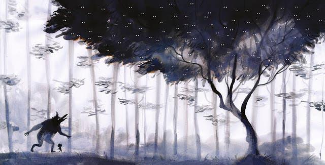 Ilustración de El bosque dentro de mí, de Adolfo Serra