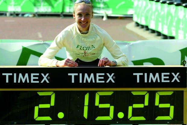 Paula Radcliffe, la mejor maratonista de todos los tiempos