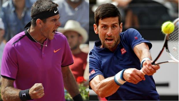 Del Potro y Djokovic, otra vez frente a frente