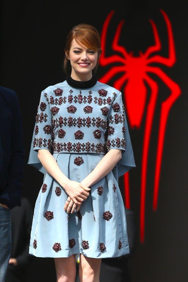 Emma Stone, una de las celebrities fan de Erdem