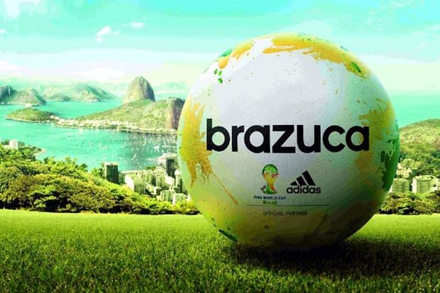 La pelota del Mundial 2014 se llamará Brazuca