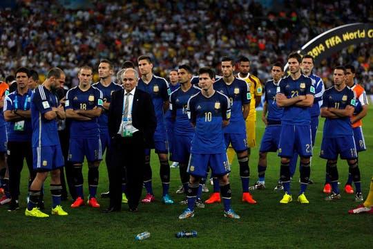 La frustración argentina. Foto: AP / Fabián Marelli / Enviado especial