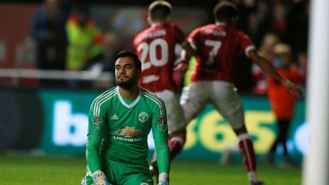 Romero juega entre poco y nada en Manchester United