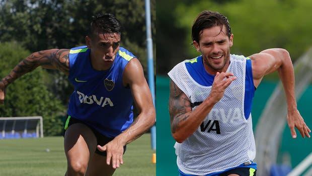 Ricardo Centurión y Fernando Gago