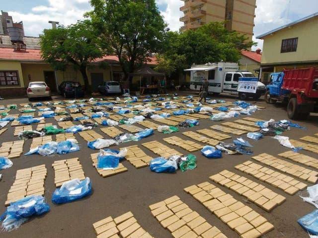 Una patrulla de Gendarmería incautó 3091 kilos de marihuana en Posadas