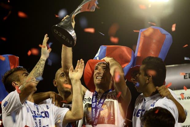 San Lorenzo campeón en la última fecha.  Foto:LA NACION /Mauro Alfieri