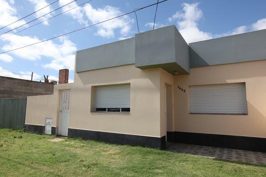 La fachada de la casa. Foto: Enviado especial / Guadalupe Aizaga