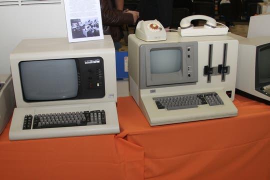 IBM es una de las compañías omnipresentes con diversos modelos en la colección del Museo de Informática. Foto: Gentileza Museo de Informática