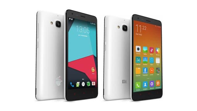 Un Zetta Conquistador y un Xiaomi Redmi 2