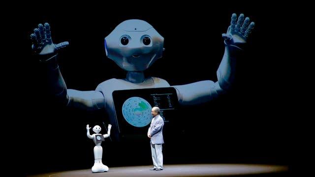 Pepper, el robot amigable de Softbank