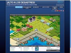 En el juego Stop Disasters tenemos que planificar una ciudad para que esté a salvo de las catástrofes naturales