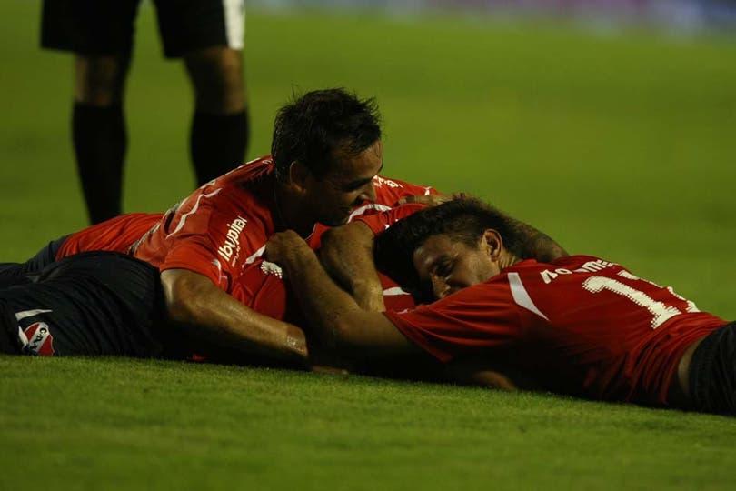 Independiente ganó 5 a 4 un partido increíble. Foto: LA NACION / Mauro Alfieri