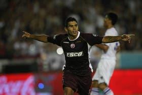 Romero volvió a anotarse en la red rival; Lanús muestra un rendimiento impecable