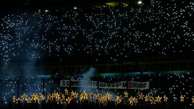 La gran fiesta Boquense. Foto: marelli
